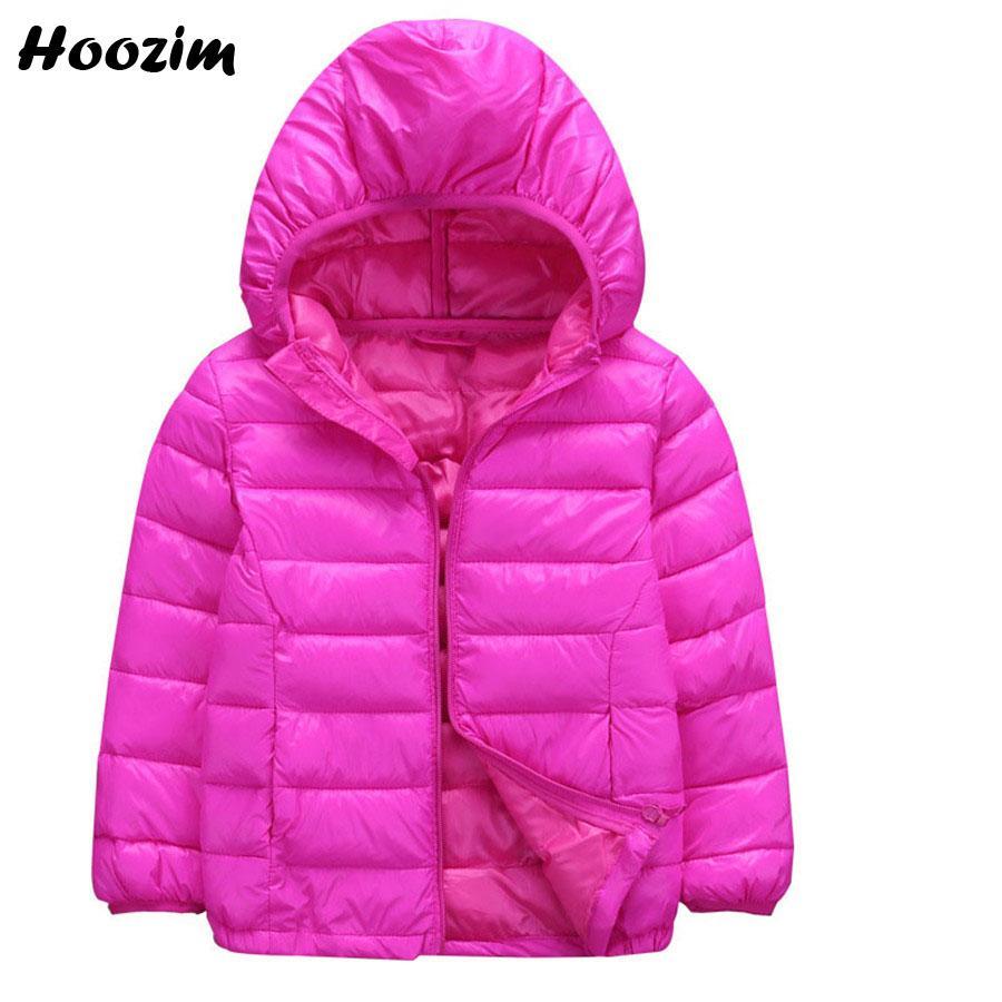 d3dfcca5a Winter Ultra Light Jacket For Girls 3 11 Years Cute Cotton Parka ...