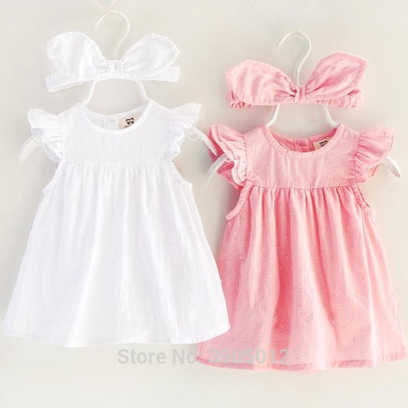43e6106cb892c 2019 2018 Sale Baby Dress Real Vestido Infantil Female Princess In Summer  Clothes 0 1 Years Old 3 6 Months 4 Cotton Y18102007 From Gou07