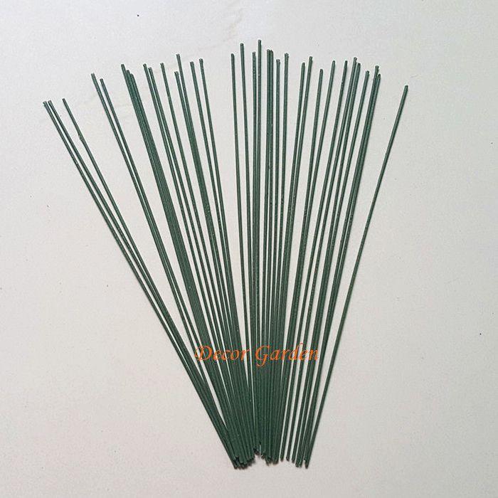 пластиковые стволовых цветочная композиция, венок, содержащий провода моделирования для DIY искусственный цветок букет свадебный декор