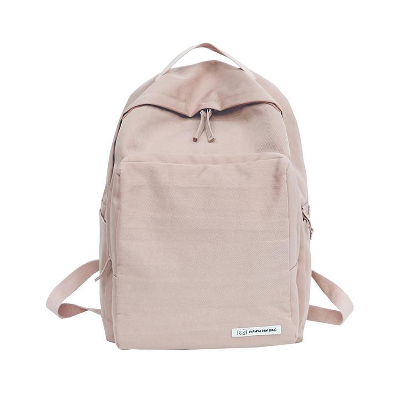 49e3e9f1ca2d Harajuku Minimalist Waterproof Backpack Small Fresh Female On Korean ...