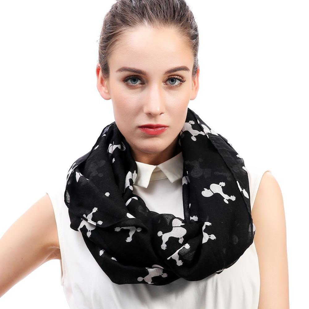 Poodle Dog Animal Pet Print Women s Infinity Loop Scarf Snood Soft  Lightweight For All Seasons Gift Accessory Fashion Shop Pashmina Scarf From  Duweiha 28e1e8e5c