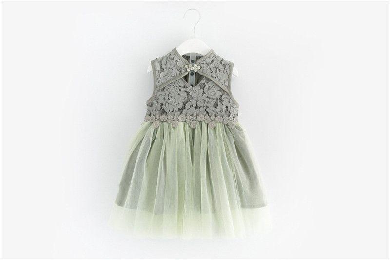 496ea751b09a 2019 Hollow Out Floral Girl Dresses Summer Children Dresses Cute ...