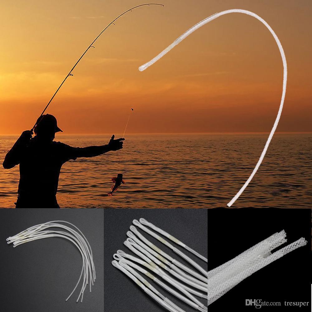Новый 10 шт./лот гладкая литье нахлыстом петля разъем 30 фунтов Fly Loop Line рыболовные принадлежности снасти Box инструмент