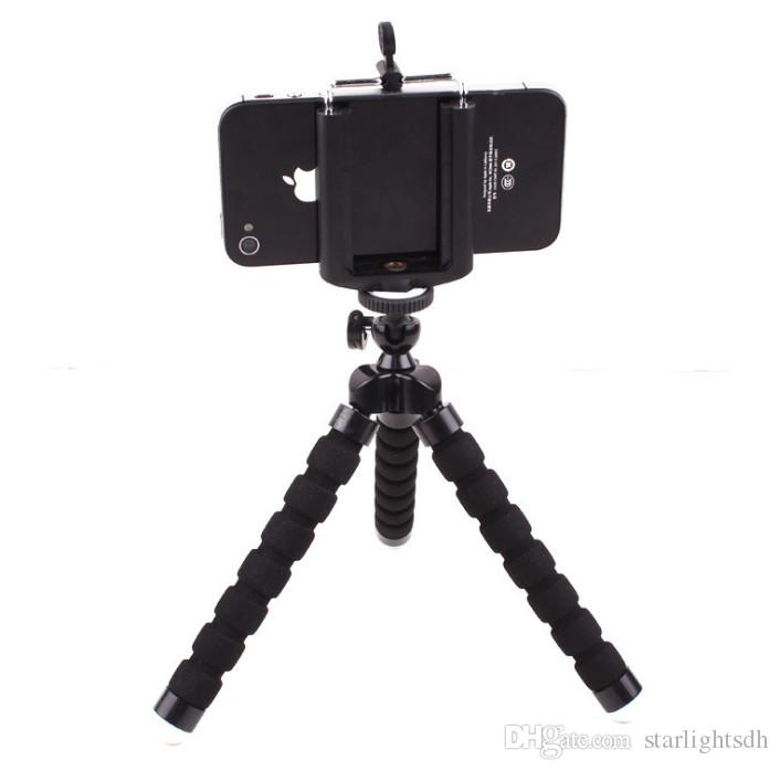 Universal Mini Camera Tripod Stand Holder Mobile phone bracket portable camera three foot rack plus ZPG06