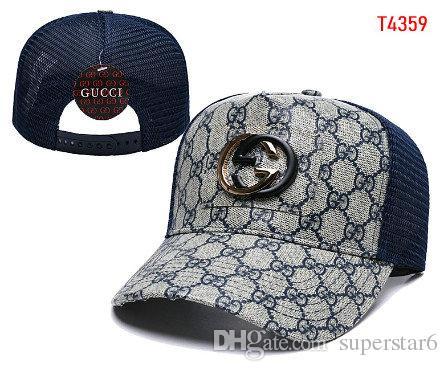 4f7ec428f93 2019 Luxury Brand Designer Europe America Cap HAT Embroidery Face ...