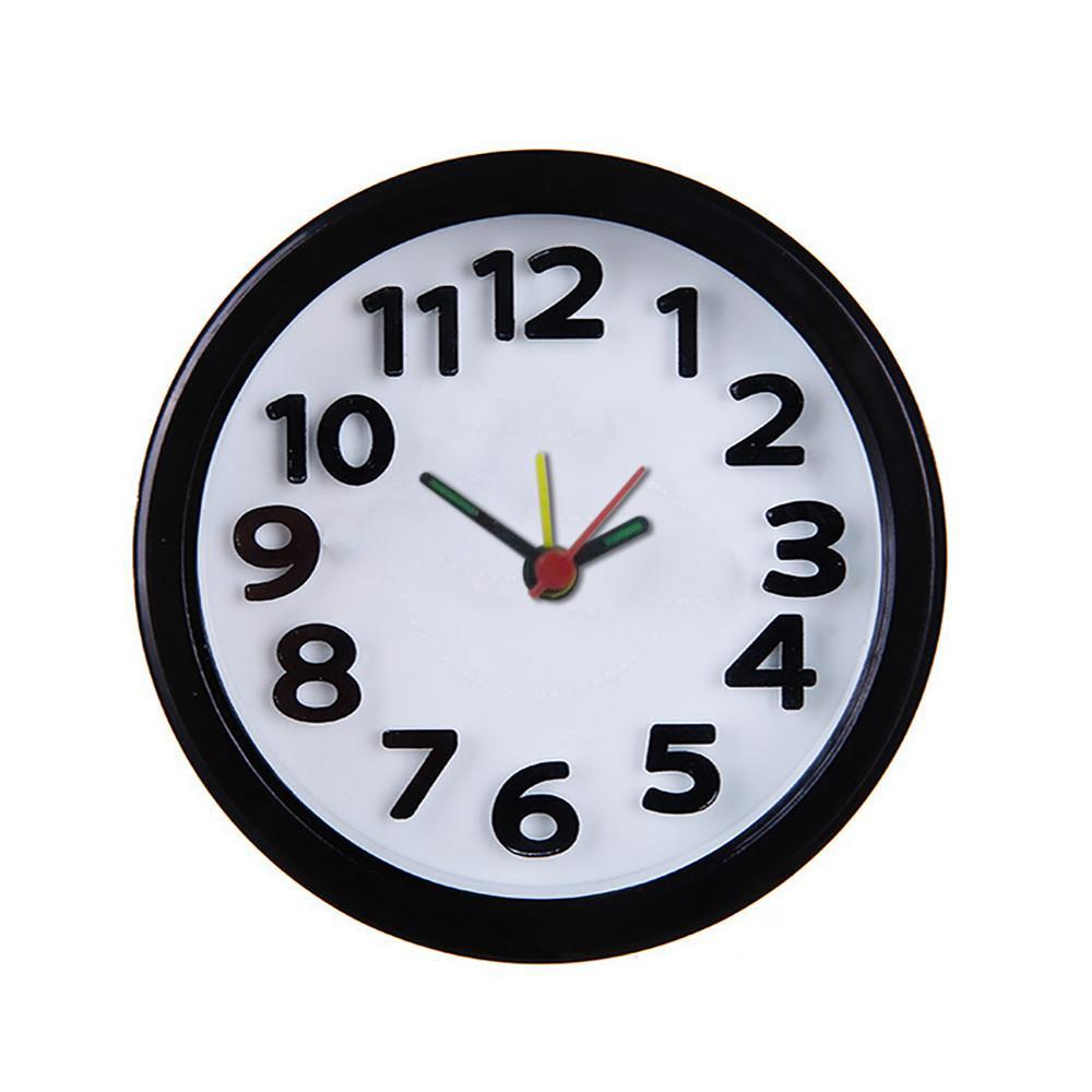 5e42863e0 Acheter Mini Réveil Rond Bureau Table Chevet Horloges Enfants Adultes Horloge  De Voyage Décor Beau Dessin Animé Réveil Horloges Composer Le Numéro 20 De  ...