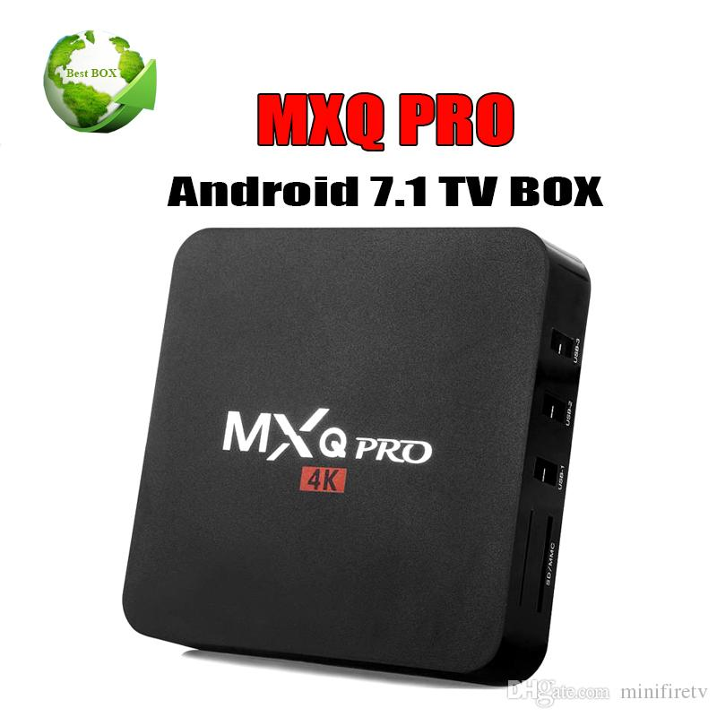 Best selling 1GB 8GB MXQ Pro Android Box RK3229 Rockchip MXQ PRO Smart TV Box Android 7.1 TV Box BEtter X96 mini