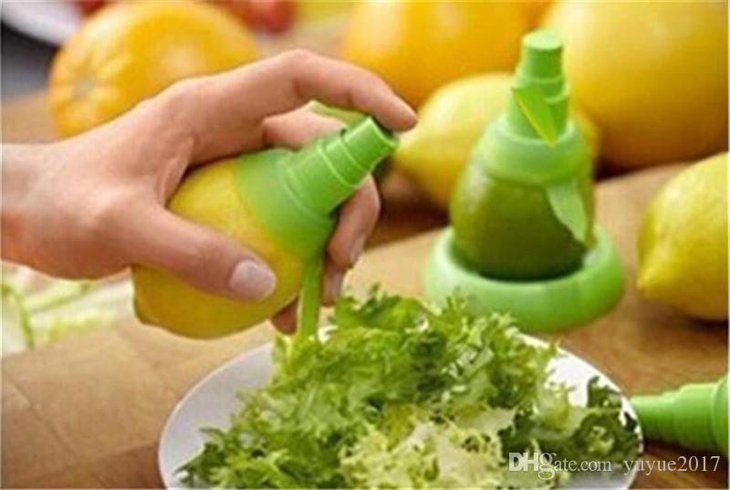 Jus d'orange Squeeze Juice Juicer Citron Spray Brume Orange Fruit Squeezer Pulvérisateur Cuisine Cuisine Outil Livraison Gratuite