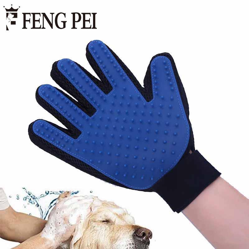 Compre Peluqueria Para Perros Guante Azul Peine Para Animales Gatos