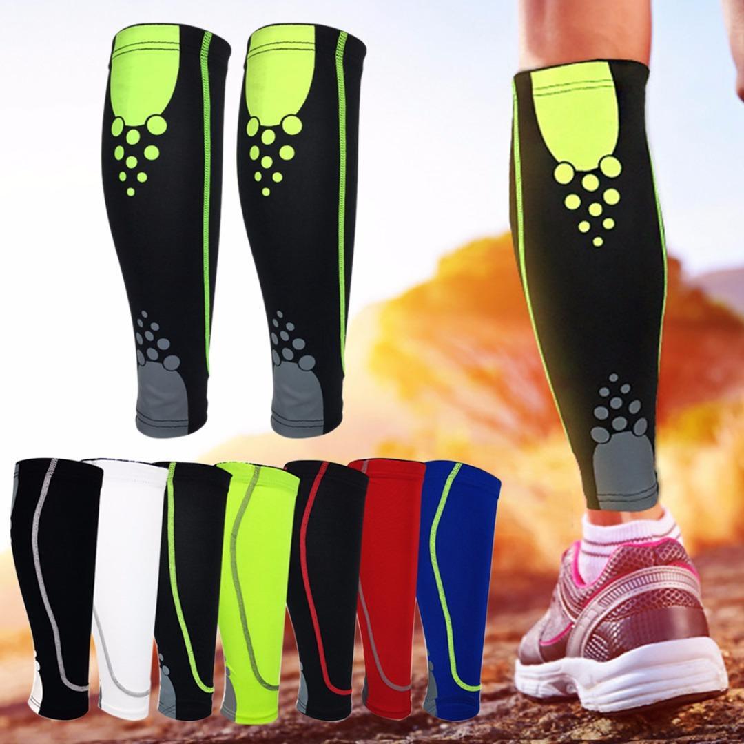 2019 New Running Calf Compression Socks Sports Leg Sleeve Sock Leg Warmers  Men Women Football Sock Protector Shin Guard Pads From Shinyday b4d8c31a2c