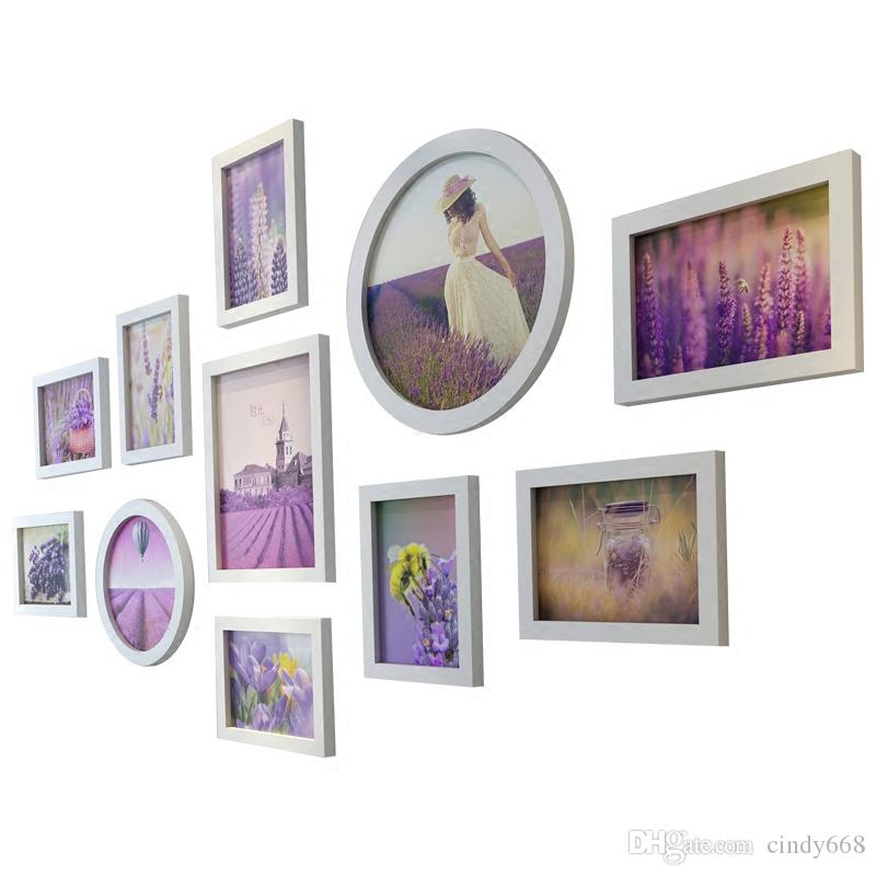2019 Photo Frames Set For Bedroom Decor Modern Picture Frames Round