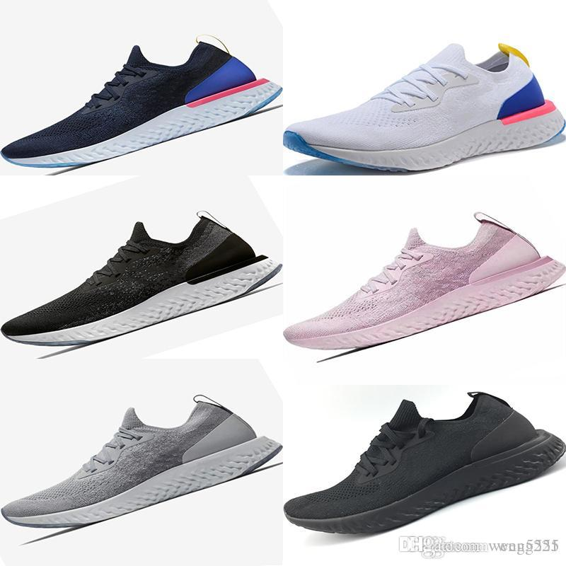 eff3cfbbe345 2018 New Knitting High Quality Epic Response Sports Shoes Trainers ...