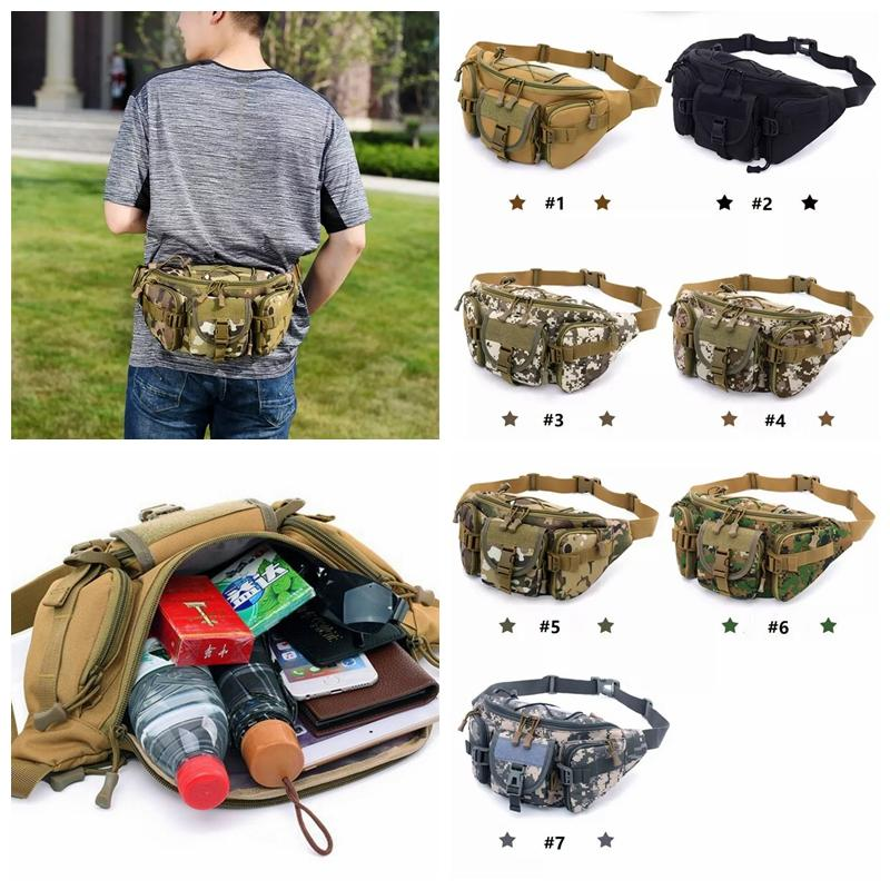 23a515a02ead Multi-Purpose Poly Tool Holder EDC Pouch Camo Bag Nylon Utility Tactical  Waist Pack Camping Hiking Bag with Molle system MMA1098 50pcs