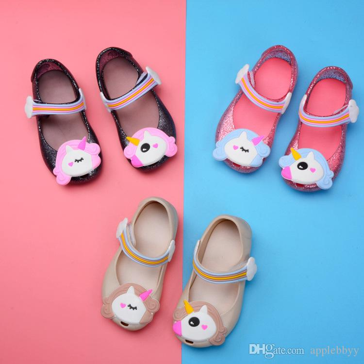 4dd2e326c333 Princess Children S Jelly Shoes Korean Version Of The Lovely Princess Shoes  Wholesale
