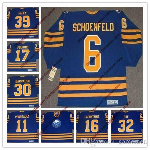 2019 Men S DOMINIK HASEK BUFFALO SABRES PHIL HOUSLEY ROB RAY PAT LAFONTAINE  1980 S CCM Vintage Retro Away Customized Hockey Stitched Jersey From  Gamemen 0ef292575