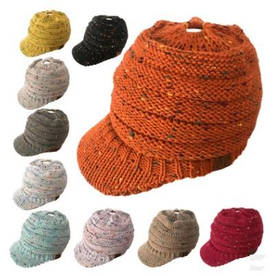 0c25a4d0d16 Cc Beanies Hats Caps Women Winter Knitted Wool Cap Men Casual Unisex Solid  Color Hip Hop Skullies Beanie Warm Hat Mma470 Monkey Birthday Hat Monkey  Party ...