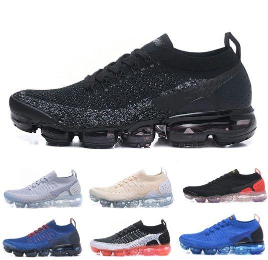31432e851a8 Air Vapormax 2.0 FK V2 Running Shoes Vapor Flagship II Mens Casual ...
