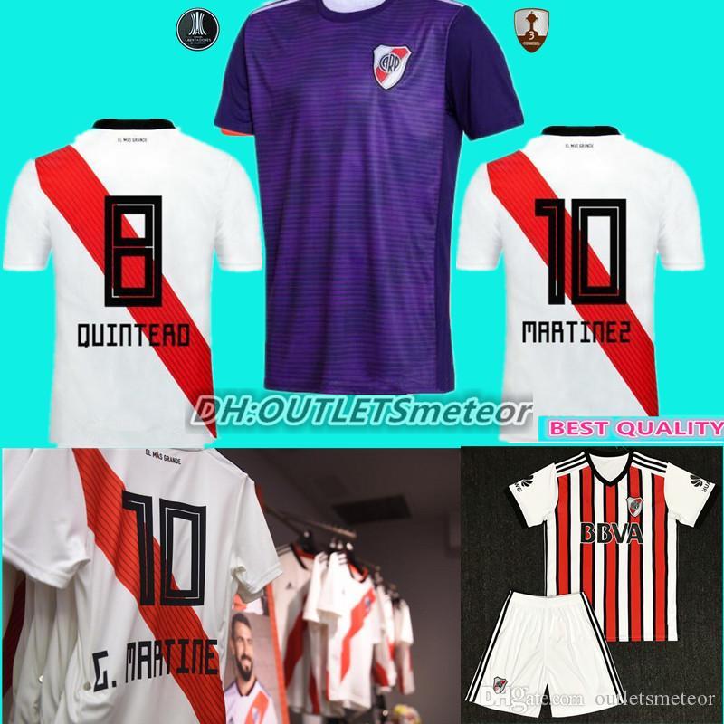 2018 2019 Camiseta De Fútbol River Plate Casa Blanca 18 19 Fernández  Martínez PRATTO OUINTERO MARTINEZ Camisetas De Fútbol Custo Por  Outletsmeteor 15afb74edcba0