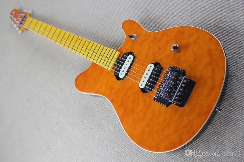 중국 기타 공장 custom100 % 새로운 고품질 어니 볼 뮤직 맨 트레몰로와 일렉트릭 기타 무료 배송 914