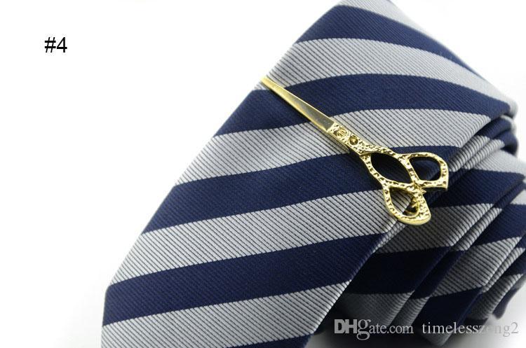 섬세한 넥타이 클립 은신 메탈 신사 세련된 넥타이 걸쇠 고품질 넥타이 바 멀티 스타일 무료 배송