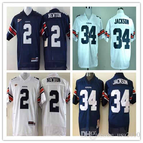 2019 Customize Mens Youth Auburn Tigers 2 Cam Newton 34 Bo Jackson Kids  Navy Blue White With Orange Sleeve NCAA College Football Jerseys From  Usa2000 fd0ab9396
