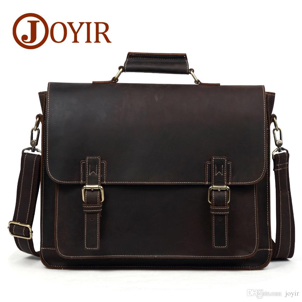 cdd66ea283 2018 Men Casual Briefcase Business Shoulder Bag Leather Messenger Bags  Computer Laptop Handbag Bag Men s Travel Bags B515 2018 Men Casual  Briefcase Leather ...