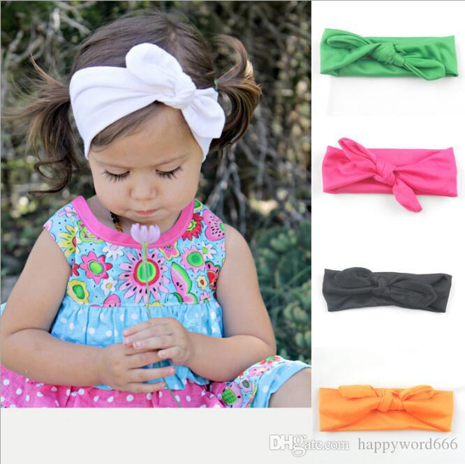 da0910c44243 Children Hair Band Rabbit Ear Headband Simple And Stylish Hair ...