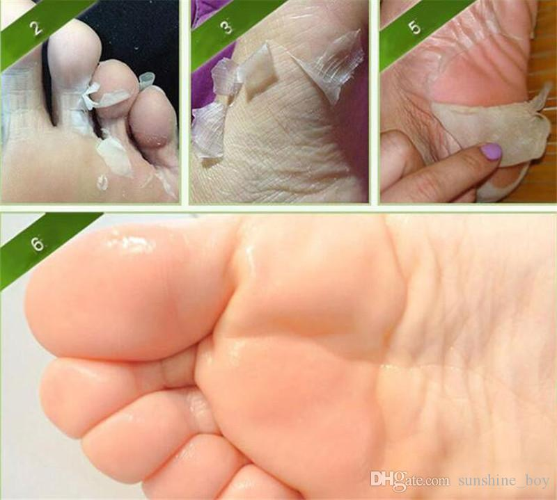 2018 hot sales Exfoliating Peel Foot Mask Baby Soft Feet Remove Hard Dead Skin Callus Care Professional Feet sox Mask Foot Care