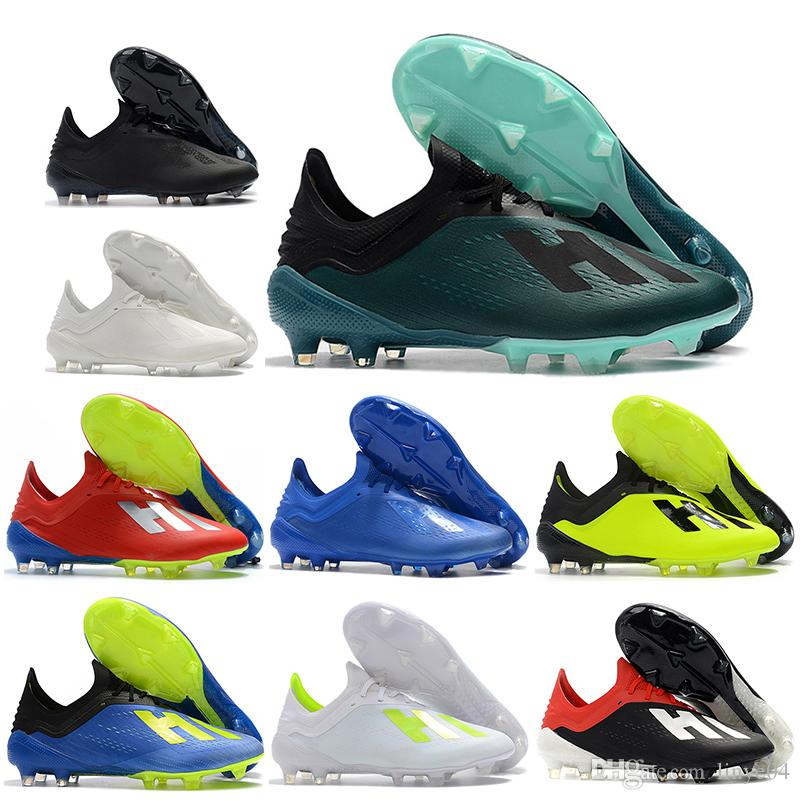 49b827b10 2018 World Cup Mens Low Ankle Football Boots X 18.1 FG Soccer Shoes X 18+  Speedmesh X18.1 Speed Mesh Soccer Cleats