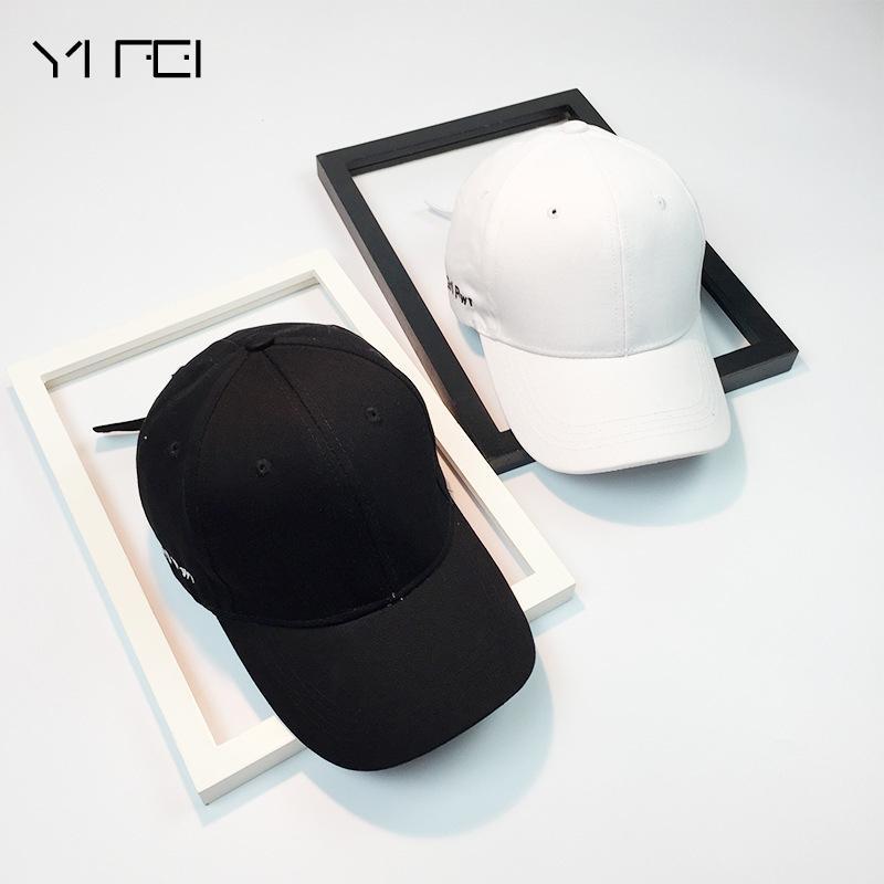 032c3377560 YIFEI Black Baseball Cap Women Snapback Embroidery Dad Hat For Men  Casquette Daddy Hat Hip Hop Trucker Cap Bone Female Drake Sun