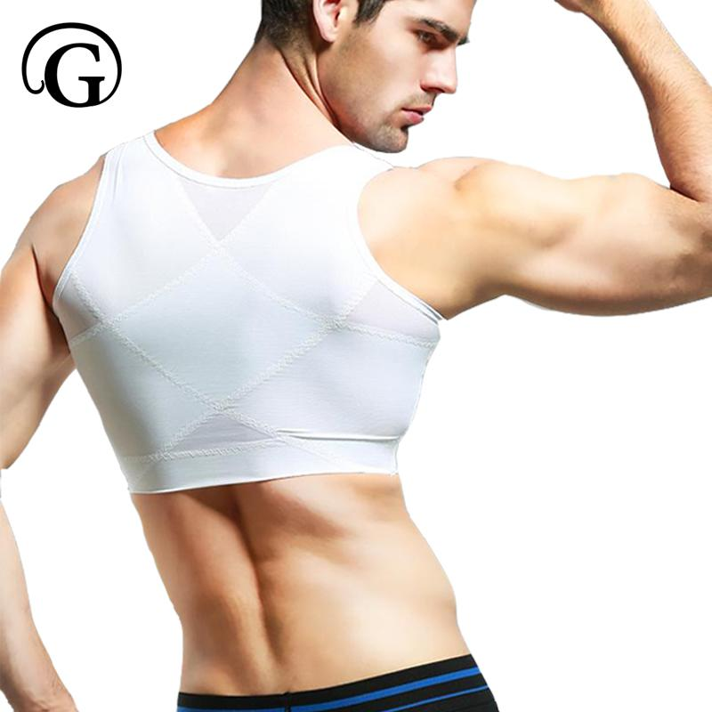 b7cb5639e 2019 PRAYGER Men Gynecomastia Control Boobs Shaper Slimming Chest Support  Back Tops Hook Hold Stomach Girdles Firm Undergarments From Xiatian7