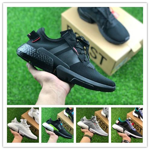 82bc01a549d17b 2019 Originals POD S3.1 Designer Shoes P.O.D S3.1 SYSTEM Outdoor Sports  Brand Mens Running Shoes Pod S3.1 Triple Black Blue Women Tennis Sneakers  From ...