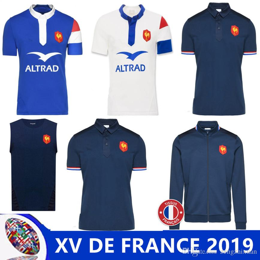 2018 2019 Xv De France Home Rugby Jersey 18 19 Sweat Presentation Xv