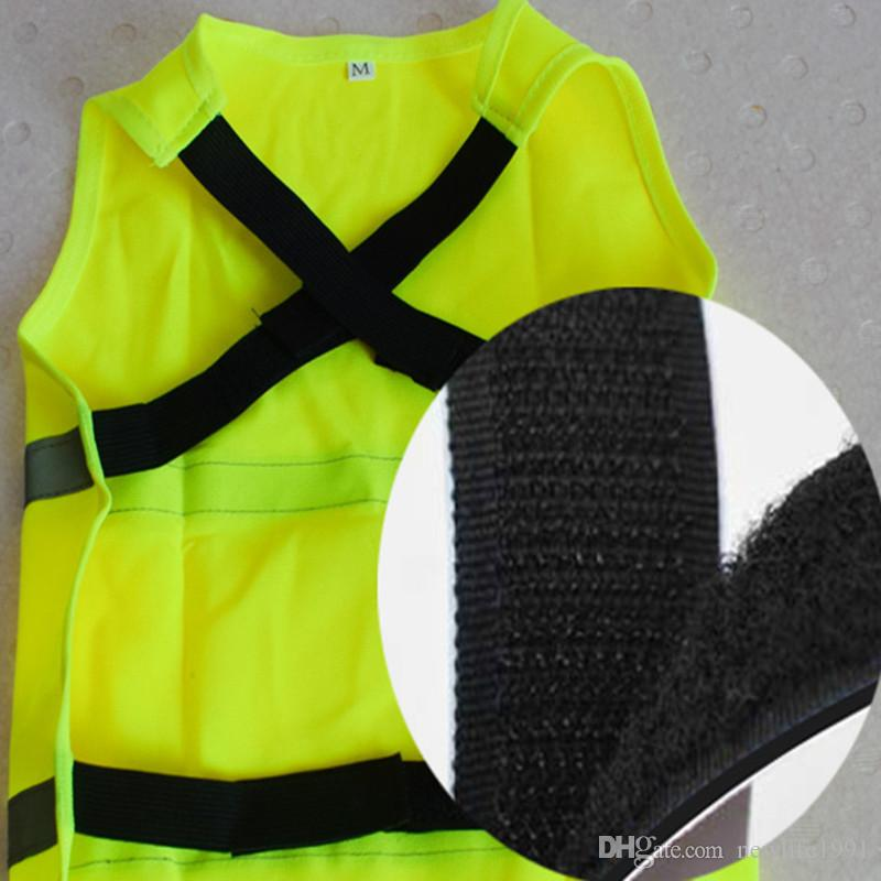 Pet Safely fluorescent Vest Small Dog Summer T-shirt Lovely Puppy Breathable Waterproof Clothing Pets Dogs Casual Wear 2018 Free Ship