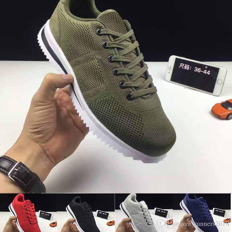 new 2018 Cortez men women breathable light plus-size pu Forrest gump shoes wear casual sport fashion Women's Jogging shoes 2014 new cheap online ueZ4h7PRt