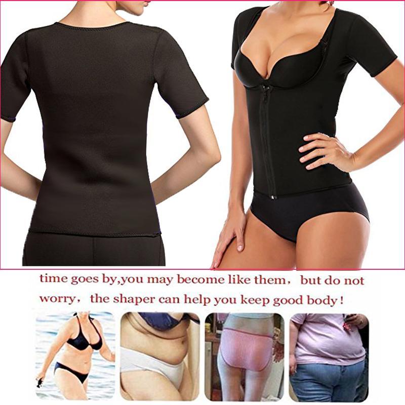 2018 Hot Shapers neoprene Bodysuit Suit Waist Trainer Corsets Neoprene Body Shaper Women Slimming Full Shape Underwear Shapewear
