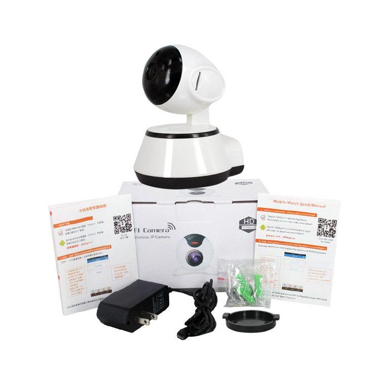 Yeni IP Kamera V380 HD 720 P Kamera WiFi Kablosuz Akıllı Güvenlik Kamera Micro SD Ağ Dönebilen Defender Ev Telecam HD CCTV IOS PC