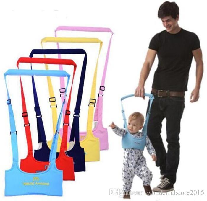 Ceinture de marche pour bébé Sangle réglable Laisses Bébé Apprentissage de la marche Assistant Enfant en bas âge Harnais de sécurité Ceinture de protection