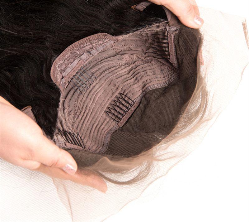 Zhifan كامل الرباط أومبير الحرير الأعلى 14-26 بوصة كامل الرباط الباروكات طويل بوب الباروكات للنساء البيض شعر الإنسان الحقيقي عذراء ريمي