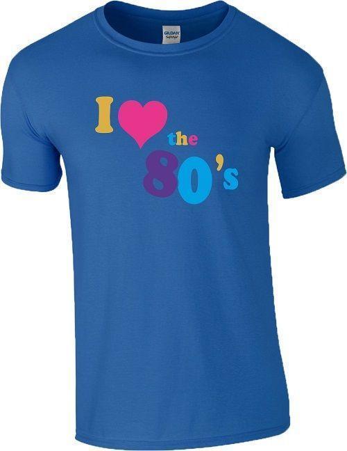 Mujer 80 S Fiesta Corazón Vestido Love 80s Fiestera De Camiseta Ajustado I Chica Para xeCWrdoQB