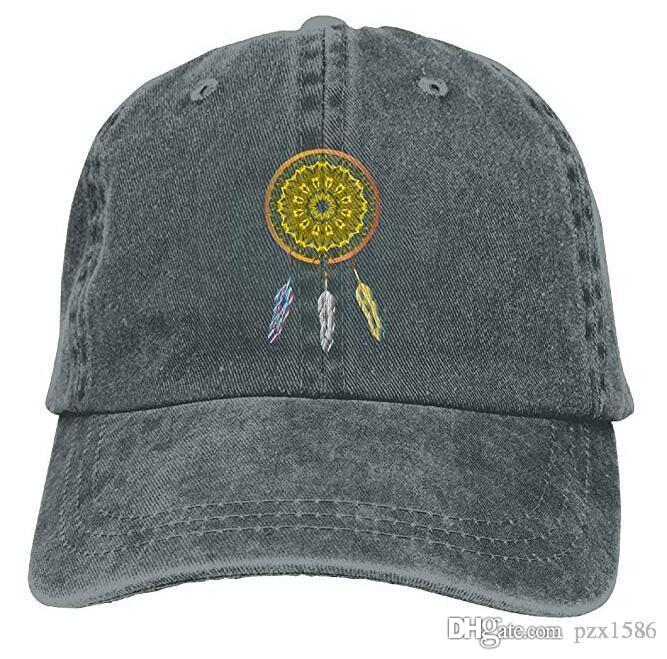 e5a90bac89e42 Boho Dreamcatcher Baseball Caps Retro Top Quality Snapback Hat For Teen  Girls Embroidered Hats Leather Hats From Pzx1586