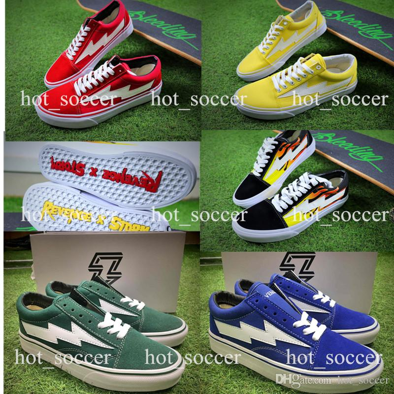 2018 Newest Revenge x Storm Pop-up Store Mens Shoes Low-Top Sports Boots Women's and Men's Canvas Shoes Casual Shoes Skateboarding Sneakers outlet store locations sale cheap price G5qGLo