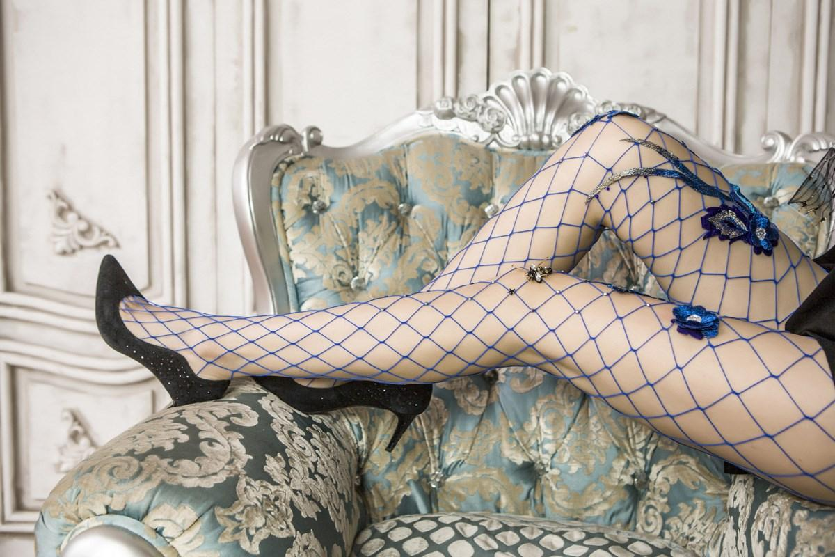 78e0026cf9285 2019 New Fashion Women Blue Embroidery Flower Sequins Fishnet Tights  Pantyhose Sexy Stockings From Roberr, $35.84 | DHgate.Com