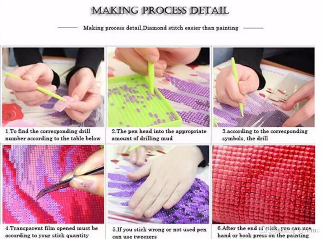 2018 Diamond Embroidery 5D DIY Diamond Painting Forest Tree Color Moon Diamond Painting Cross Stitch Rhinestone Mosaic
