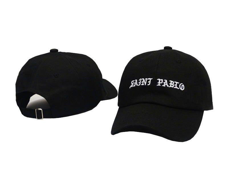 40a13c76239f6 Saint Pablo Cap Kanye West 2017 Brand Dad Hat Funny Hat Leisure Cool Cap  Snapback Hip Hop Baseball Men Women West Caps Vintage Baseball Caps Cap  Shop From ...