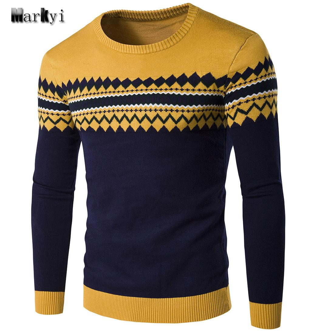 Großhandel MarKyi 2016 Herbst Patched Pullover Herren Marke Pullover Gute  Qualität O Neck Strickmuster Herren Pullover Größe 2xl Von Clothwelldone,  ... f24654aac1