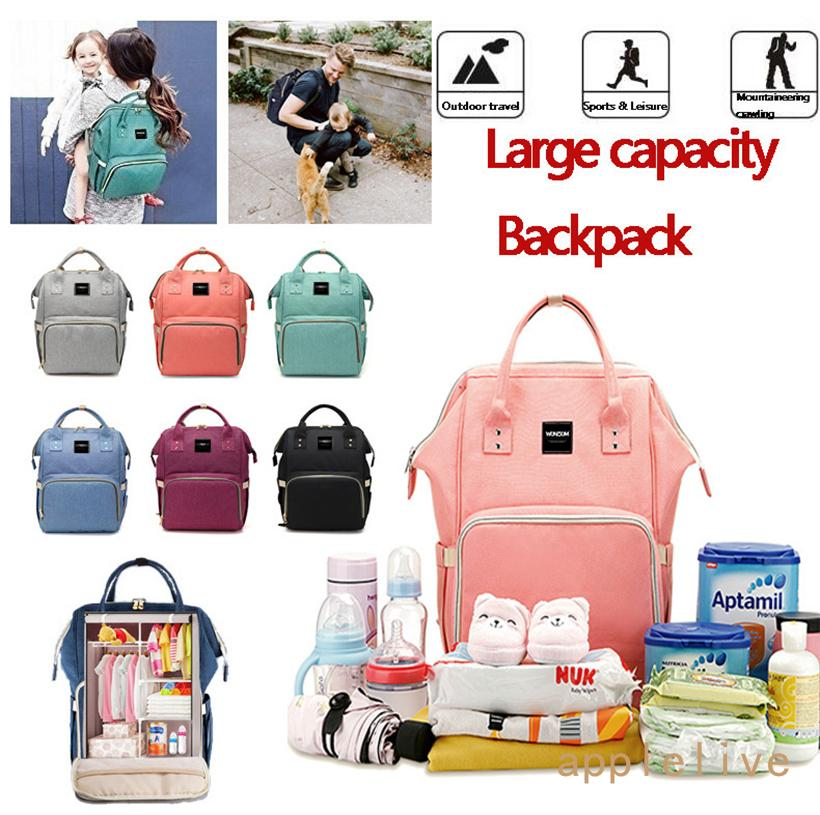 994670f79b65 2018 Diaper Bag Multi Function Waterproof Travel Backpack Nappy Tote Bags  With Pockets For Baby Care Large Capacity Stylish And Durable From ...
