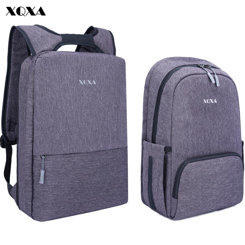 XQXA Light Slim Backpack Men Lightweight