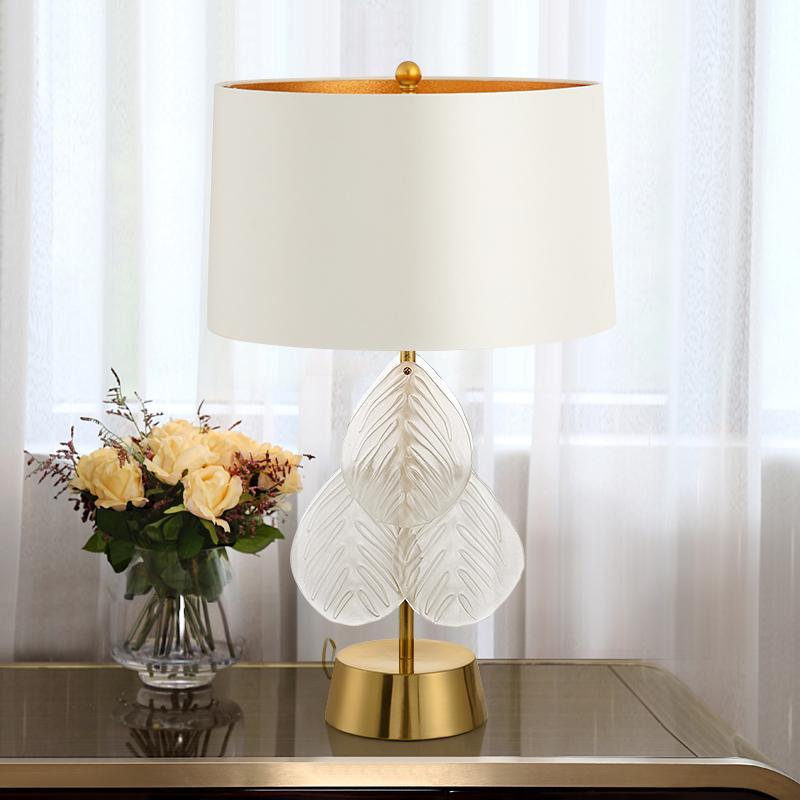Laisse De Blanc Lampes Verre Pour Salon Américain Acheter ...