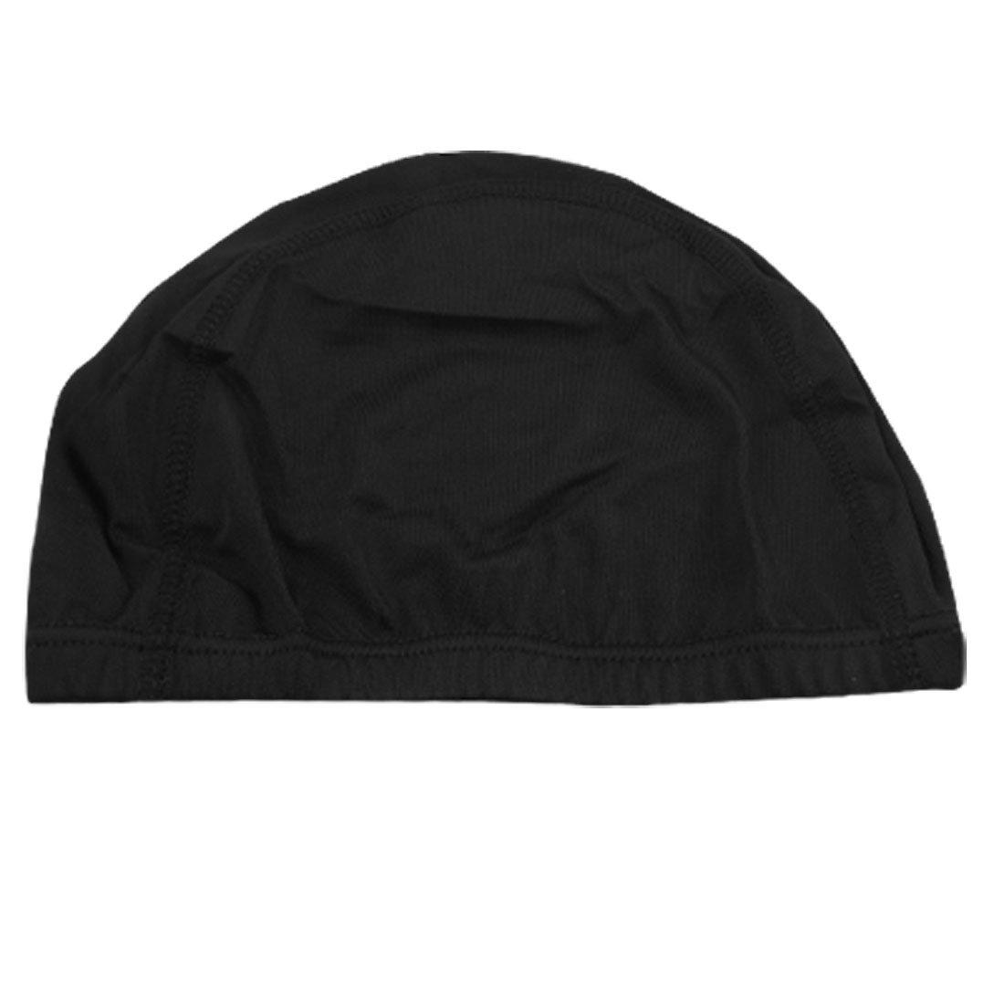 177a043381c 2019 2x Woman Man Polyester Elastic Swimming Bathing Hat Cap Black From  Simmer